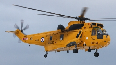 Photo ID 148243 by Barry Swann. UK Air Force Westland Sea King HAR 3, ZA105