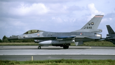 Photo ID 148367 by Joop de Groot. Netherlands Air Force General Dynamics F 16A Fighting Falcon, J 648