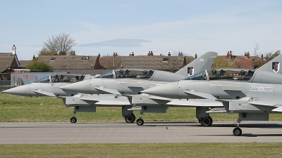 Photo ID 148898 by Ian Nightingale. UK Air Force Eurofighter EF 2000 Typhoon T3, ZJ803