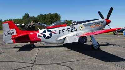 Photo ID 148543 by Aaron C. Rhodes. Private Heritage Flight Museum North American P 51D Mustang, N151AF