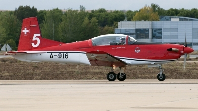 Photo ID 148605 by Jesus Peñas. Switzerland Air Force Pilatus NCPC 7 Turbo Trainer, A 916