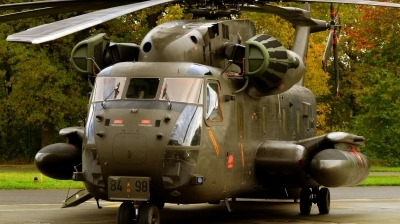 Photo ID 148664 by Alex Staruszkiewicz. Germany Air Force Sikorsky CH 53GS Sea Stallion, 84 98