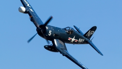 Photo ID 148677 by Hector Rivera - Puerto Rico Spotter. Private Collings Foundation Vought F 4U 5NL Corsair, N45NL