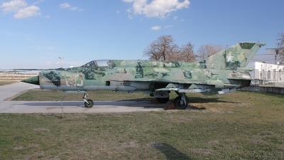 Photo ID 148832 by Stamatis Alipasalis. Bulgaria Air Force Mikoyan Gurevich MiG 21M, 613