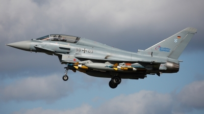 Photo ID 18759 by Andreas Zeitler - Flying-Wings. Germany Air Force Eurofighter EF 2000 Typhoon T, 98 03