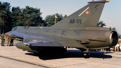 Photo ID 148971 by Gertjan Stienstra - mil-aircraftspotting. Denmark Air Force Saab RF35 Draken, AR 111