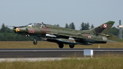 Photo ID 18771 by Hristos Lachtaras. Poland Air Force Sukhoi Su 22UM 3K, 508