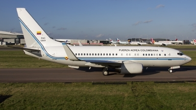 Photo ID 149209 by Chris Lofting. Colombia Air Force Boeing 737 74V BBJ, FAC0001