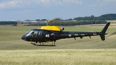 Photo ID 149330 by Joop de Groot. UK Army Aerospatiale AS 350BB Squirrel HT2, ZJ246