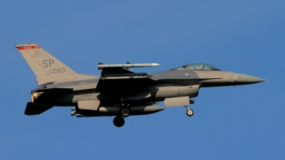 Photo ID 149385 by Manfred Jaggi. USA Air Force General Dynamics F 16C Fighting Falcon, 96 0083