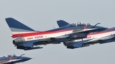 Photo ID 149513 by Peter Terlouw. China Air Force Chengdu J10S, 11