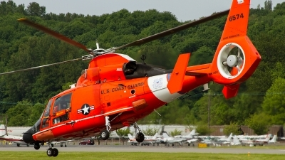 Photo ID 149547 by Russell Hill. USA Coast Guard Aerospatiale MH 65C Dolphin, 6574