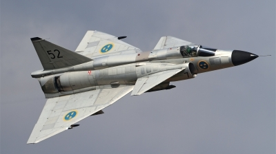 Photo ID 149664 by Ales Hottmar. Private Swedish Air Force Historic Flight Saab AJS37 Viggen, SE DXN