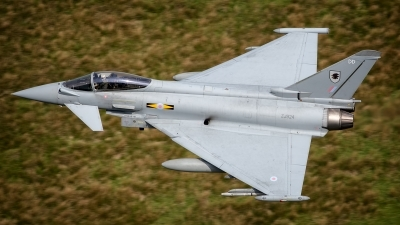 Photo ID 150053 by Lloyd Horgan. UK Air Force Eurofighter EF 2000 Typhoon FGR4, ZJ924