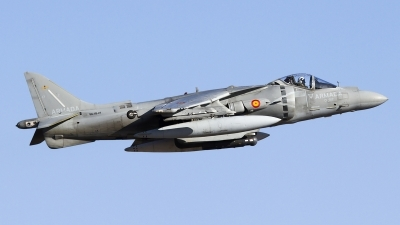 Photo ID 150290 by Jorge Guerra. Spain Navy McDonnell Douglas EAV 8B Harrier II Plus, VA 1B 27