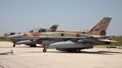 Photo ID 18919 by Andreas Zeitler - Flying-Wings. Israel Air Force Lockheed Martin F 16I Sufa Fighting Falcon, 497