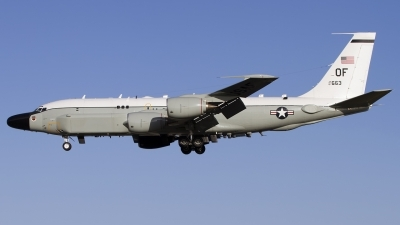 Photo ID 150543 by Chris Lofting. USA Air Force Boeing RC 135S Cobra Ball 717 148, 61 2663