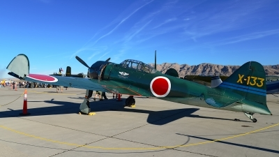 Photo ID 150731 by Rod Dermo. Private Commemorative Air Force Mitsubishi A6M3 Zero, N712Z