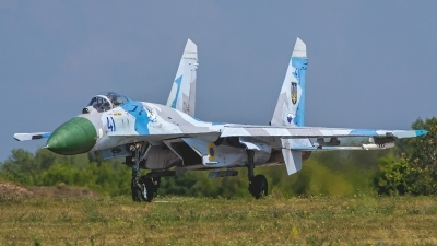 Photo ID 150846 by Antoha. Ukraine Air Force Sukhoi Su 27S, 41 BLUE