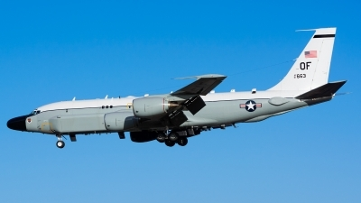 Photo ID 150809 by Ashley Wallace. USA Air Force Boeing RC 135S Cobra Ball 717 148, 61 2663