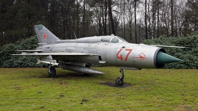 Photo ID 150919 by Jan Eenling. Russia Air Force Mikoyan Gurevich MiG 21PFM, 47 RED