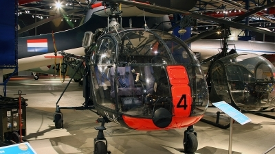 Photo ID 150987 by Jan Eenling. Netherlands Air Force Sud Aviation SE 3130 Alouette II, H 4