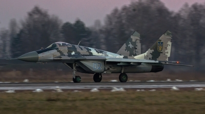 Photo ID 153601 by Antoha. Ukraine Air Force Mikoyan Gurevich MiG 29 9 13,