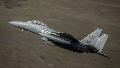 Photo ID 150957 by Tom Dean. USA Air Force McDonnell Douglas F 15E Strike Eagle, 91 0316