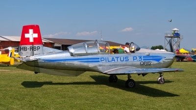 Photo ID 151044 by Giovanni Curto. Private P 3 Flyers Pilatus P 3 05, HB RBP