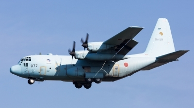 Photo ID 151127 by Andreas Zeitler - Flying-Wings. Japan Air Force Lockheed C 130H Hercules L 382, 75 1077