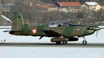 Photo ID 151116 by Giovanni Curto. Austria Air Force Pilatus PC 7 Turbo Trainer, 3H FM
