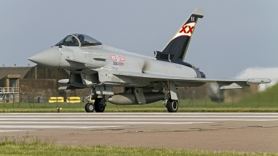 Photo ID 152285 by Niels Roman / VORTEX-images. UK Air Force Eurofighter EF 2000 Typhoon FGR4, ZK343