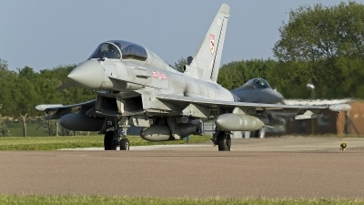 Photo ID 151214 by Niels Roman / VORTEX-images. UK Air Force Eurofighter EF 2000 Typhoon T3, ZJ805