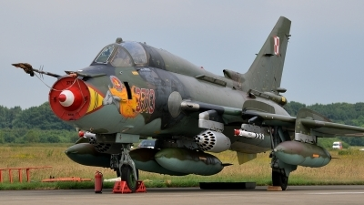 Photo ID 151248 by Peter Terlouw. Poland Air Force Sukhoi Su 22M4 Fitter K, 3713