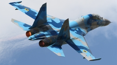 Photo ID 152335 by Ales Hottmar. Ukraine Air Force Sukhoi Su 27UB, 69 BLUE