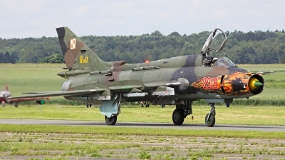 Photo ID 151269 by Tobias Ader. Poland Air Force Sukhoi Su 22M4 Fitter K, 8919