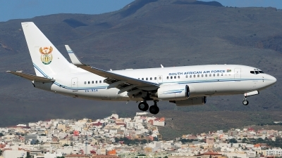 Photo ID 151367 by Alejandro Hernández León. South Africa Air Force Boeing 737 7ED BBJ, ZS RSA