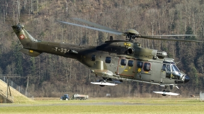 Photo ID 151380 by Thomas Ziegler - Aviation-Media. Switzerland Air Force Aerospatiale AS 532UL Cougar, T 334
