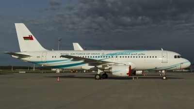 Photo ID 151382 by Thomas Ziegler - Aviation-Media. Oman Air Force Airbus A320 214XCJ, 555
