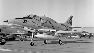 Photo ID 151433 by David F. Brown. USA Marines McDonnell Douglas A 4E Skyhawk, 151078