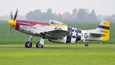 Photo ID 151491 by Niels Roman / VORTEX-images. Private Private North American P 51D Mustang, PH PSI