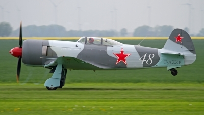 Photo ID 151466 by Niels Roman / VORTEX-images. Private Private Yakovlev Yak 3UA, F AZZK