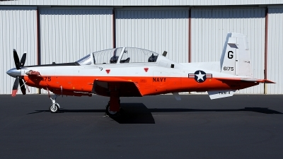 Photo ID 151890 by mark forest. USA Navy Raytheon T 6B Texan II, 166175