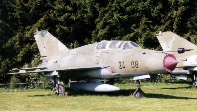 Photo ID 151545 by Jan Eenling. Germany Air Force Mikoyan Gurevich MiG 21US, 24 08