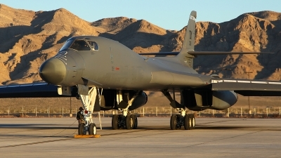 Photo ID 151541 by mark forest. USA Air Force Rockwell B 1B Lancer, 85 0061