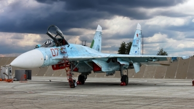 Photo ID 151593 by Sergey Chaikovsky. Russia Air Force Sukhoi Su 27SM, RF 92209