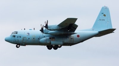 Photo ID 151738 by Andreas Zeitler - Flying-Wings. Japan Air Force Lockheed C 130H Hercules L 382, 75 1078