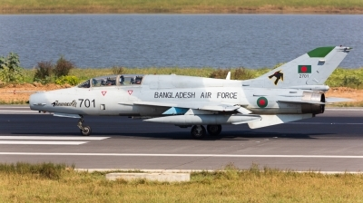 Photo ID 151774 by Andreas Zeitler - Flying-Wings. Bangladesh Air Force Chengdu FT 7BGI, 2701