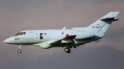 Photo ID 151797 by Andreas Zeitler - Flying-Wings. Japan Air Force Hawker Siddeley U 125A HS 125 800, 02 3027