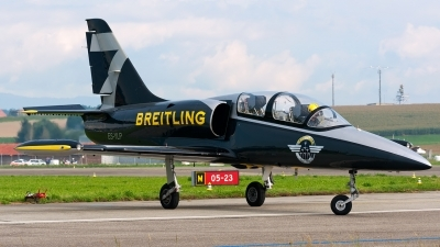 Photo ID 151841 by Giovanni Curto. Private Breitling Jet Team Aero L 39C Albatros, ES YLP